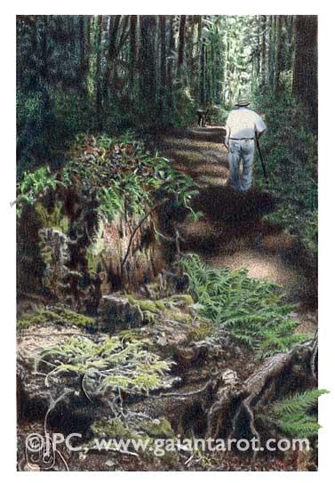 Gaian Tarot Ten of Earth