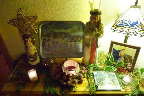 Lucia altar