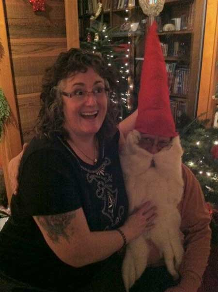 Betsy and the Gnome!