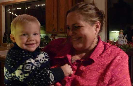 Grandma Nora and Baby Jacob