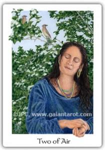 Gaian Tarot Two of Air