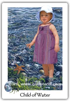 Gaian Tarot Child of Water