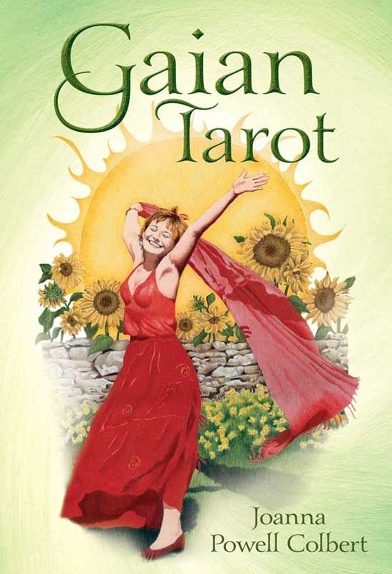 Gaian Tarot Llewellyn Tarot box