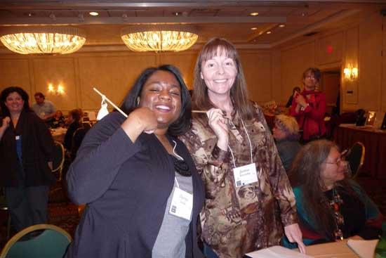 My friends Danya Smith & Joanne Kucinskas