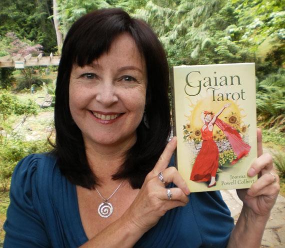 Joanna & the Llewellyn Gaian Tarot