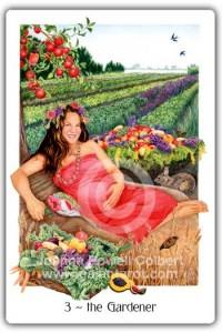 Gaian Tarot Gardener (Empress)