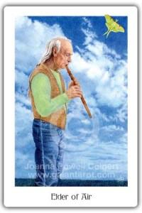 Gaian Tarot Elder of Air