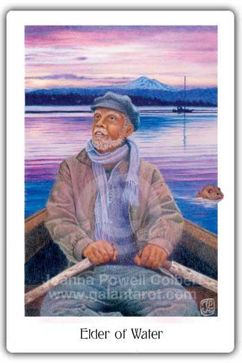 Gaian Tarot Elder of Water