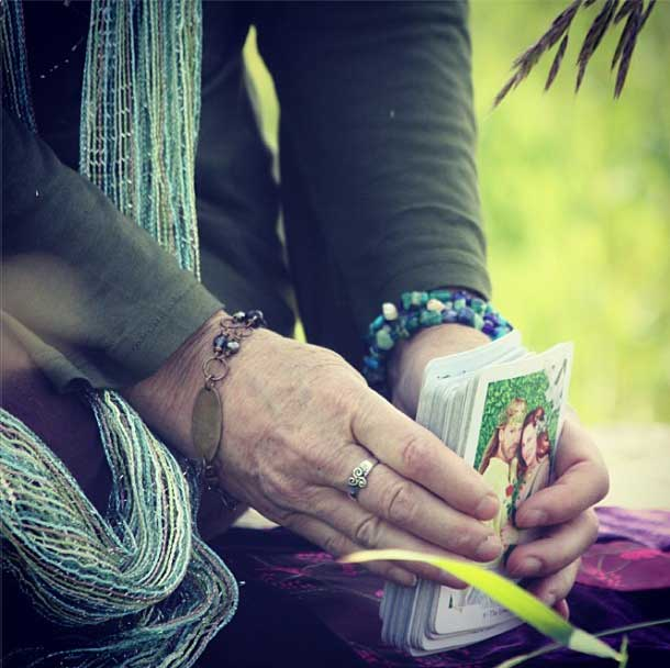 Gaian Tarot. Photo by Elaine Nichols.