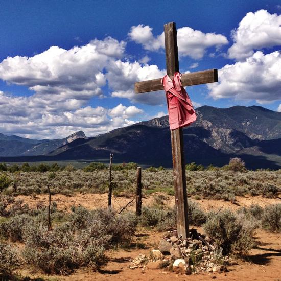 Pueblo cross
