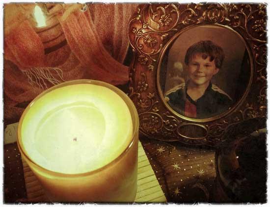 Jake on altar