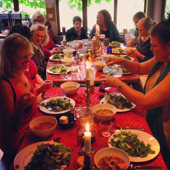 Retreat feast