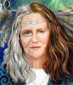 Gaian Priestess face