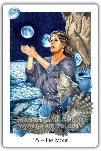 Gaian Tarot Moon