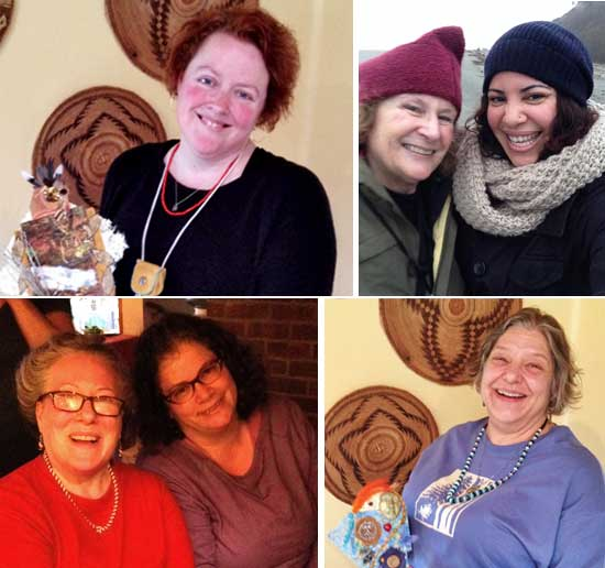 Lisa, Ali, Karen R, Shannon, Arwen, Deb