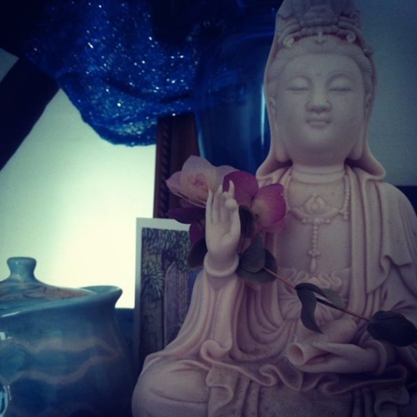 Kwan Yin, photo by Megan Guppy