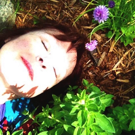 me & the garden