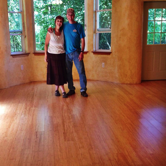 Bamboo floors!