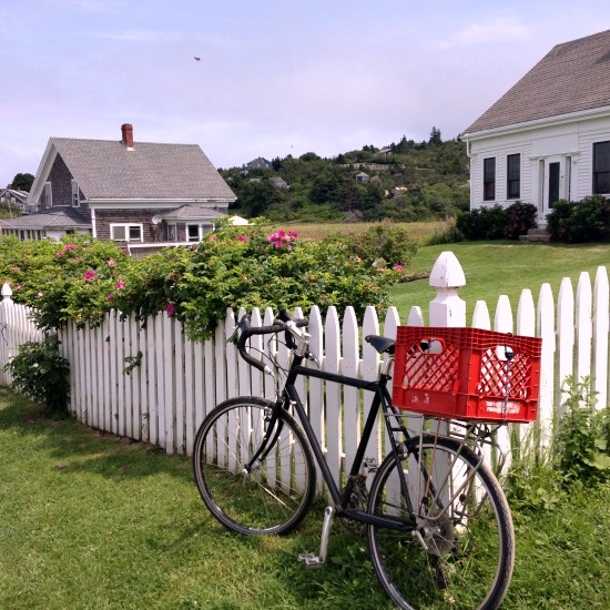 Monhegan bicycle