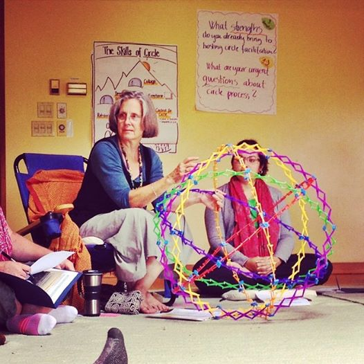 Christina & the circle-sphere