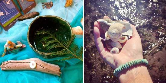 cedar, seawater, mermaid treasure