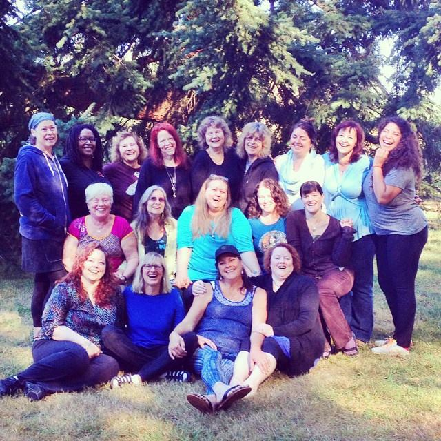 Gaian Soul Retreatants, September 2014