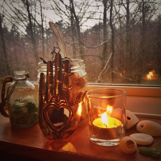 Little altars everywhere