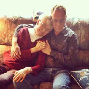 Craig & his mom, Thanksgiving 2014
