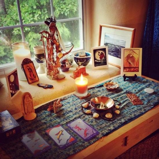 altar - retreat prep