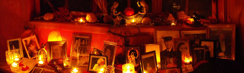 Ancestor altar - photo by Chele Eva Armstrong