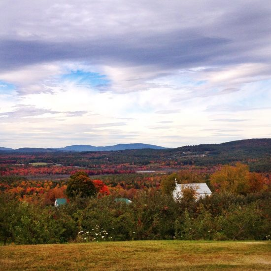 Maine autumn