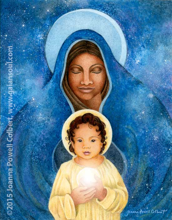 Dark Madonna & Daughter by Joanna Powell Colbert