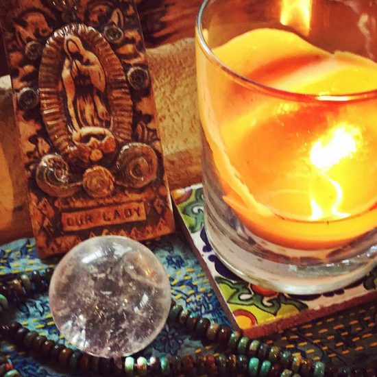 Today I find stillness and quiet at my altar. Taking the time to breathe, to watch the dancing flame. Quiet. Yes. #30daysofyule