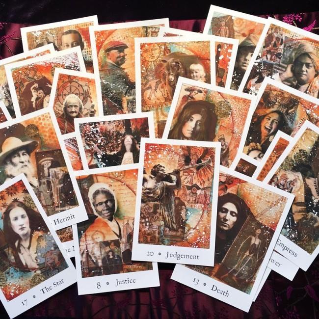The Pentimento Tarot by Joanna Powell Colbert