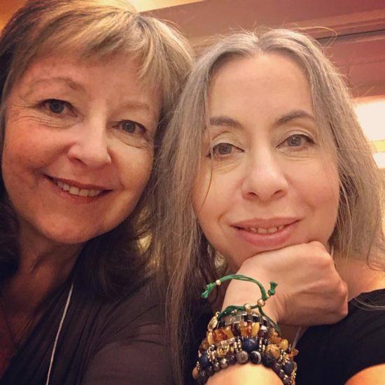 Theresa and me