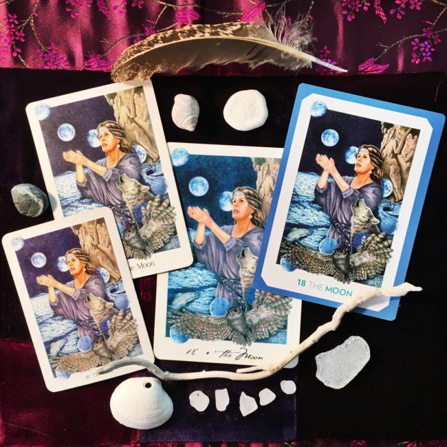Gaian Tarot Moon cards