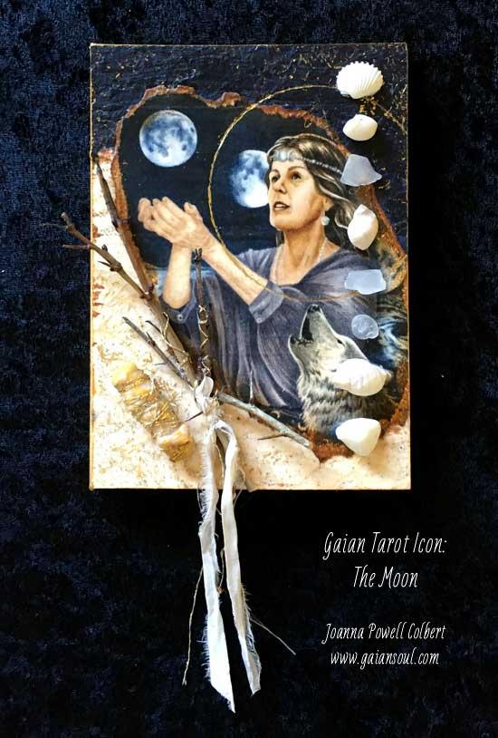 Gaian Tarot Icon: The Moon
