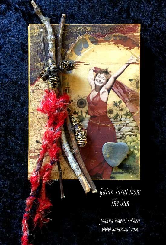 Gaian Tarot Icon - Sun