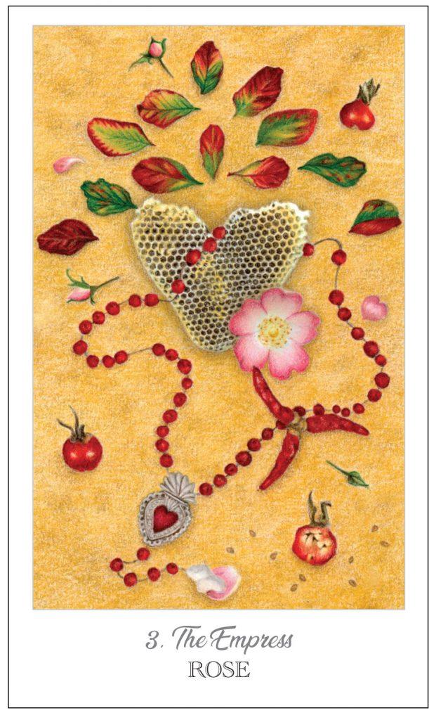 Herbcrafter's Tarot Empress Rose