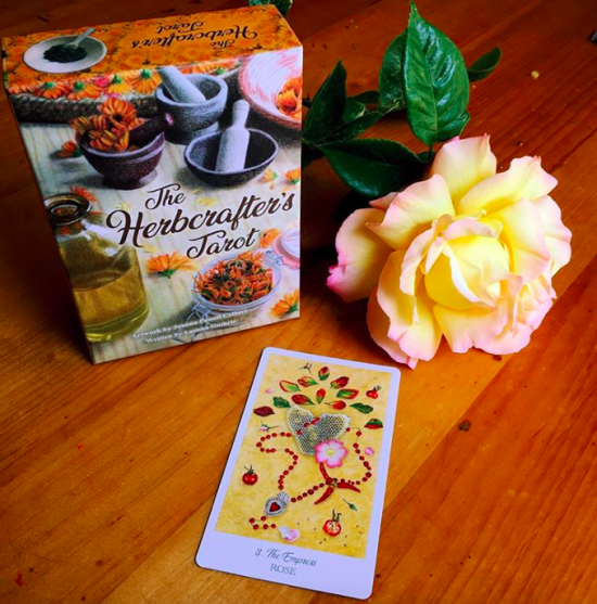 Herbcrafter's Tarot and Roses