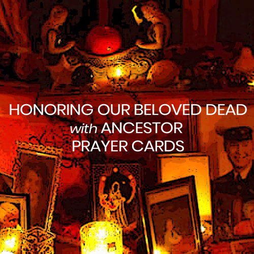 Ancestor Prayer Cards course