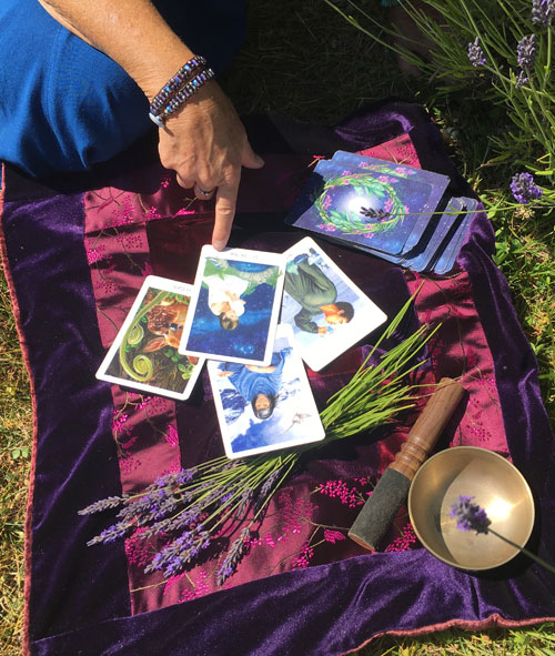 Gaian Tarot cards