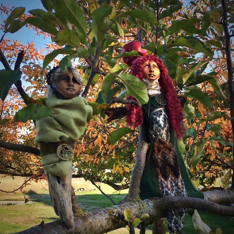Spirit Dolls in a tree