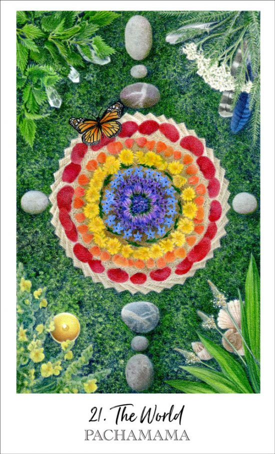 Pachamama the World, Herbcrafter's Tarot