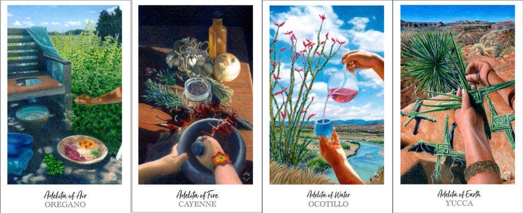 Four Adelitas, Herbcrafter's Tarot