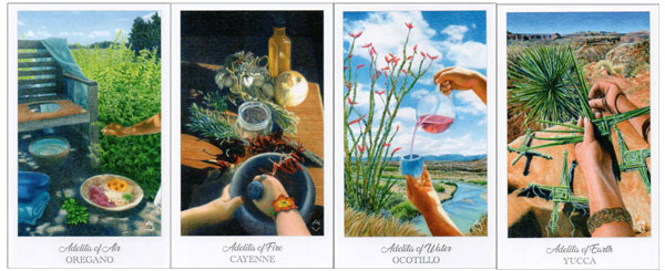 Adelitas from the Herbcrafters Tarot