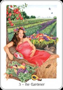 Gaian Tarot Gardener