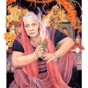 Gaian Tarot Elder of Fire