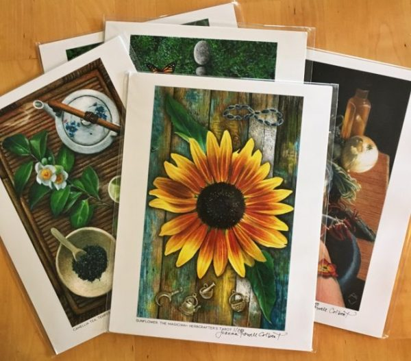 Herbcrafter's Tarot prints