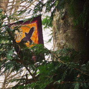 Prayer flag cedar